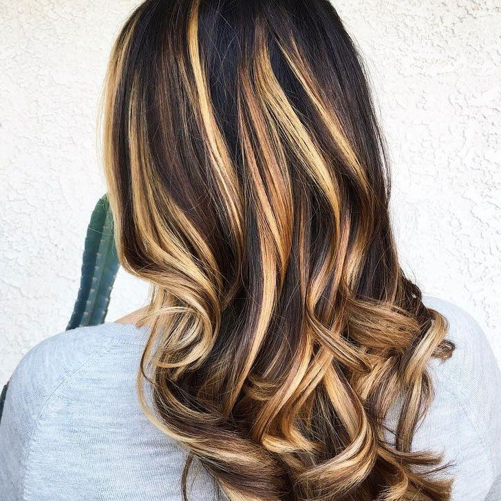 20 Best Ideas For Dark Hair With Highlights To Rock