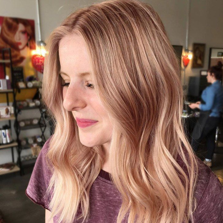 20 Best Rose Gold Hair Color Ideas To Rock
