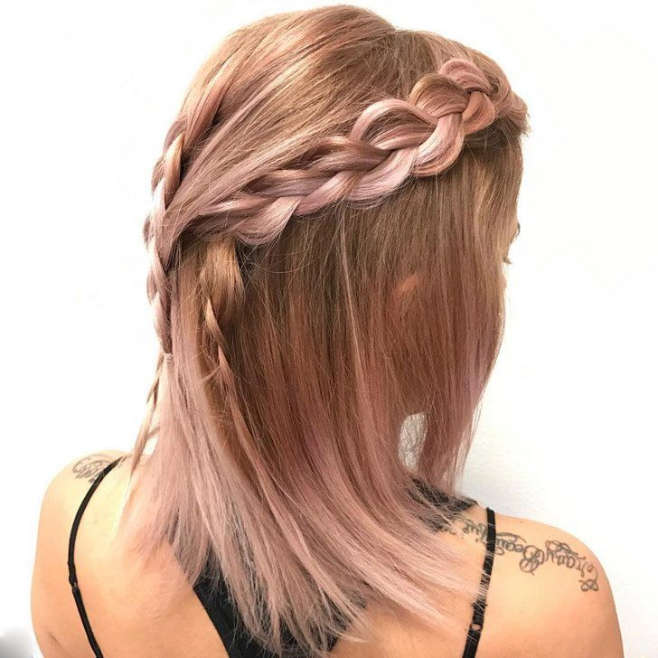 20 Beste Rose Gold Haarfarbe Ideen Zu Rocken Bestefrisuren