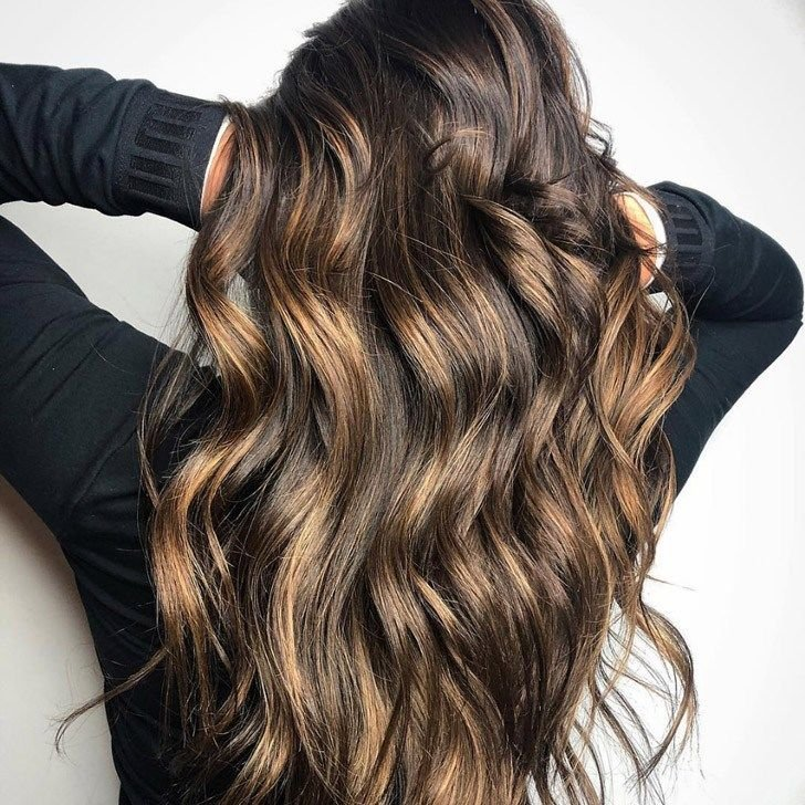 20 Gorgeous Dark Brown Hair With Highlights Ideas