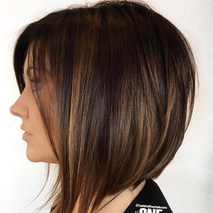 20 Gorgeous Dark Brown Hair With Highlights Ideas