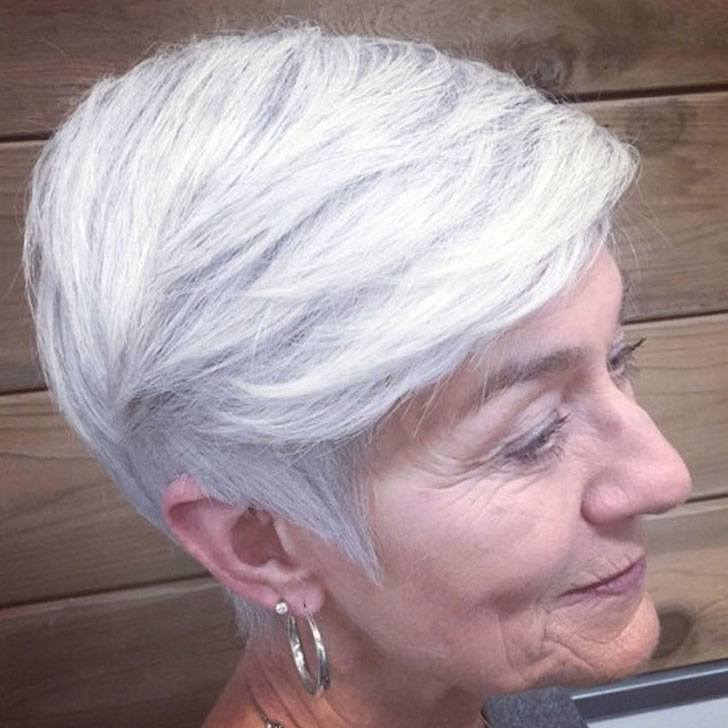 40 Best Hairstyles For Grey Hair That Make You Look 10 Years Younger