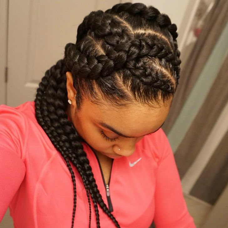 Tsthairstyles 31 Best Black Braided Hairstyles That Attract Admiring