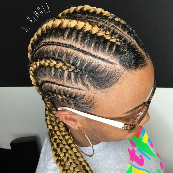 31 Best Black Braided Hairstyles For 2018 That Attract Admiring Glances