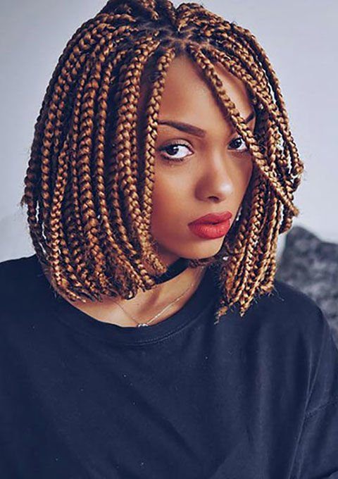 30 Cute And Chic Box Braids Will Rescue Your Natural Curly Hair